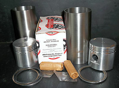 BSA A10 PISTONS & CYLINDER SLEEVES Std 70mm 1950-1962 NEW PARTS P11030 LINERS