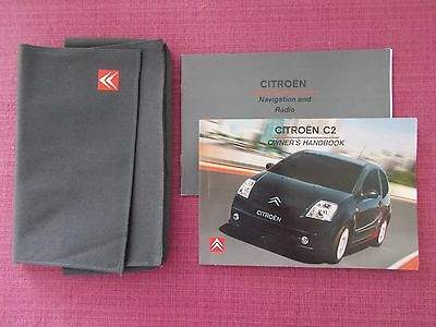 Citroen C2 (2003 - 2005) Owners Manual - Owners Guide - Handbook.  (Ci 465)