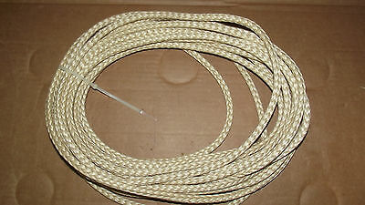 """NEW 3/8"""" x 50' Vectran 12-Strand Braid, Winch Line, Wire Rope Replacement"""