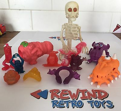 KENNER THE REAL GHOSTBUSTERS SET OF GHOSTS ACTION FIGURE VINTAGE 80's