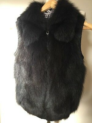 Real Fur Gilet Size s