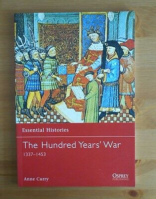 Osprey HUNDRED YEARS WAR BOOK essential histories 19