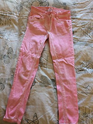 Girls Next Pastel Pink Skinny Jeans Aged 8 Years