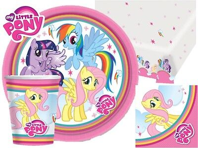 My Little Pony Party Complete Kits 8 To 48 Guests Tableware Plates Cups Napkins