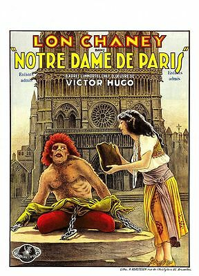 "STANDARD  8MM  ""THE HUNCHBACK OF NOTRE DAME"" -  LON CHANEY - VO - Complet"