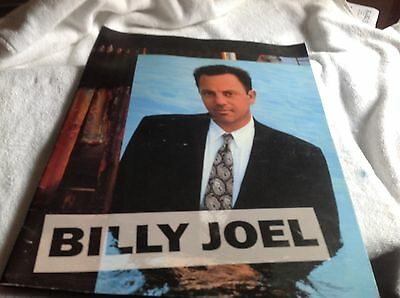 Billy Joel River Of Dreams Tour 1993-1994 Concert Program Book, Signed, Satins
