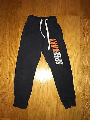Boys Blue Tracksuit Bottoms 2/3 Years