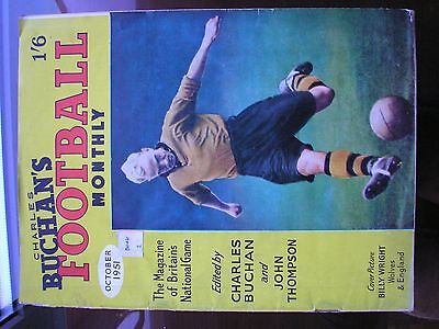 Charles Buchan's Football Monthly - October 1951