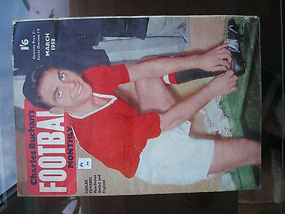 Charles Buchan Football Monthly - March 1958