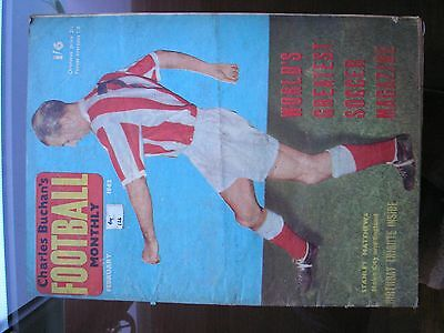 Charles Buchan's Football Monthly - Stanley Matthews On Cover