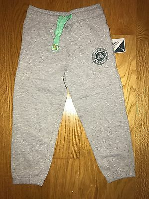 New Boys Grey Tracksuit Bottoms Age 6-7