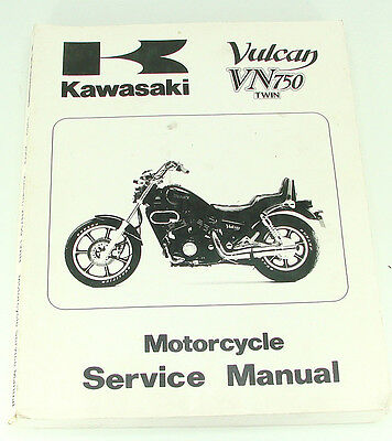 Kawasaki 1985-2003 Vulcan VN750 Twin Factory Service Manual