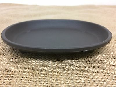 12x9cm Black Plastic Drip / Humidity Tray