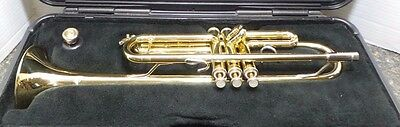 Bach TR300 Trumpet With Hard Case 104648-1  (RO) (AAA-6)