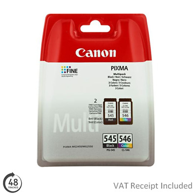 Canon Pixma MG2550S Ink Cartridges - Black & Colour - Original NEW