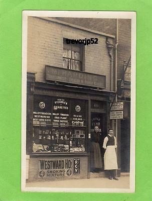 M Harding Tobacconist Shop Front 195 Barton Street Gloucester RP pc Ref A677