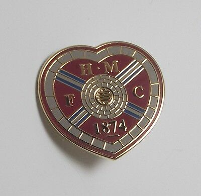 Hearts Fc -  Enamel Crest Badge