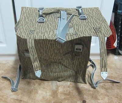 Military Back Pack Assault East Germany Camo Ruck Bag Paintball + Free Shipping