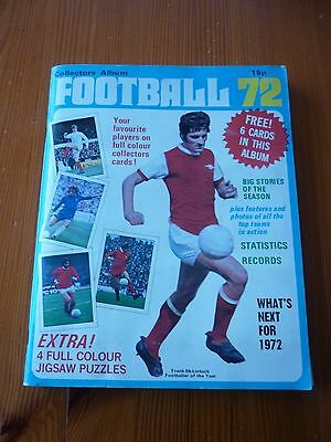 TOP SELLERS (PANINI) FOOTBALL 72 COMPLETE ALBUM -RARE great condition