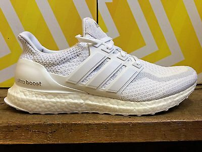 ADIDAS ULTRA BOOST M Blanc Baskets Homme Sneakers Running Triple White AQ5929