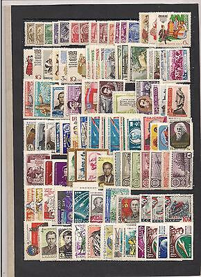 Russian stamps 1961, without the foil stamps, full year set MNH **