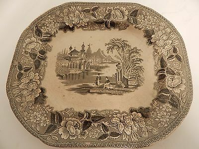 Victorian Bosphorous Large Plate