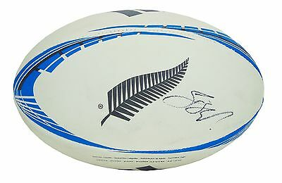 Sonny Bill Williams Signed New Zealand All Blacks Rugby Ball 2016+Photo Proof