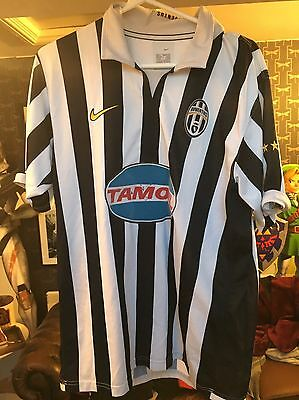 Juventus Italy 2006/2007 Home Football Shirt Jersey Maglia Nike