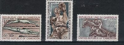 Cameroun (5553) 1972 Air. Olympic Games. Munich set  Sg653-5 mint