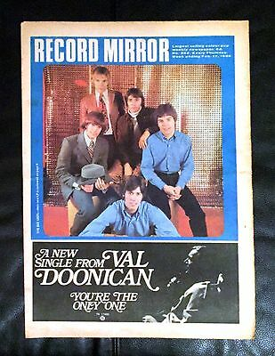 Record Mirror (1968) Tremeloes, Manfred Mann, Love Affair, Bee Gees, The Move