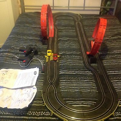 Chad Valley Looping Express Kids Scalextric Car Toys Track and Cars Porsche 911
