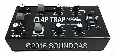 SIMMONS CLAP TRAP *Serviced* Vintage Analogue Percussion Synth