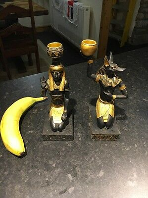 Egyptian Candle Holders