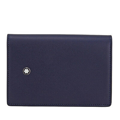 Montblanc Meisterstuck Navy Blue Buisness Card Holder