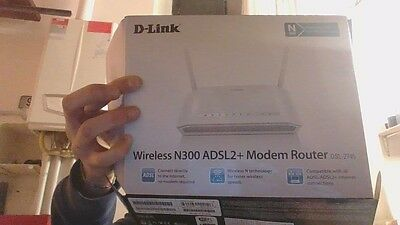 Router D-Link Wireless N300Adsl2