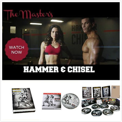 HAMMER AND CHISEL 7 dvd with books guides calendar