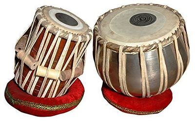 Handmade Iron Tabla Drum Set By Best Indian Professionals with Base N Cover