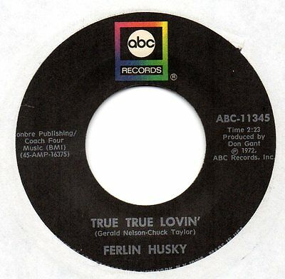 Ferlin Husky 6 ABC & First Generation 45s from 1972 to 1978 - all near mint