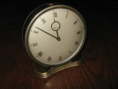 Kienzle 8-Days Art Deco Clock,german Prewar,heinrich Moeller Design?