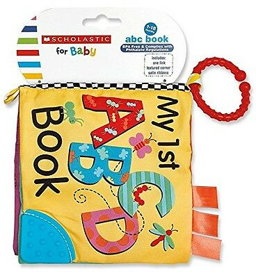 Scholastic Plush Toy, ABC Book