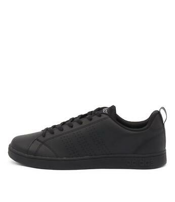 New Adidas Neo Advantage Clean Vs Black Black Lea Mens Shoes Casual