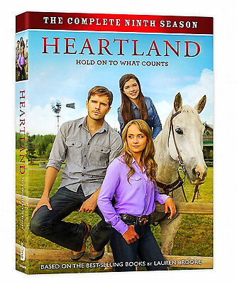 HEARTLAND: The Complete Season 9 (DVD, 2016, 5-Disc Set) Brand New!!