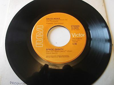 """David Bowie Space Oddity/the Man Who Sold The World Us 7"""" Single"""