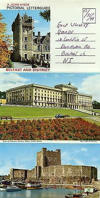 A John Hinde Pictorial Letterguide Belfast and District