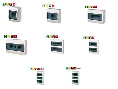 Control box Fuse box control box Surface mount ELEGANT 8x Model