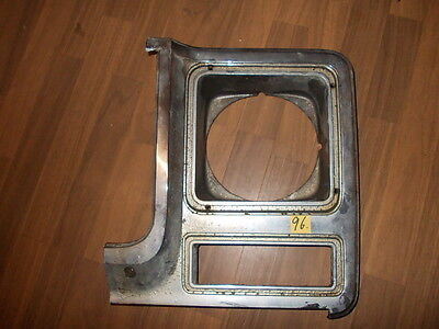 Chevy GMC Truck Chrome Headlight Bezel Driver Side 1979-1980 LH 14001391