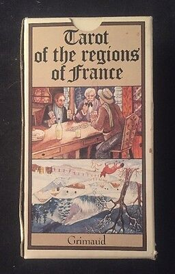 TAROT OF THE REGIONS OF FRANCE Tarot Cards GRIMAUD Made In France 78 CARDS Magic