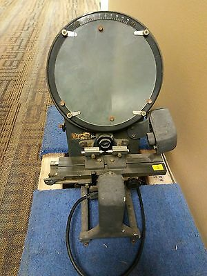 MicroVu Benchtop Optical Comparator 20x Lens