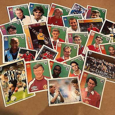 Merlin Football Stickers, Premier League 97 & Kick Off Collections.