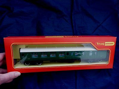 TRIANG/HORNBY R623A OO GAUGE  - BRAKE 3rd COACH - (SR) WITH SEATING - 4351-BOXED